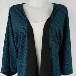 Lularoe Blue Open Front Cardigan Size Medium